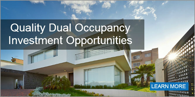 Dual Occcupancy Invenstment Opportunities